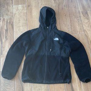 North Face Hooded Denali Jacket